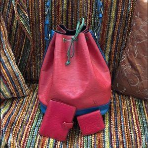 Louis Vuitton Tricolor Epi Noe & Accessories